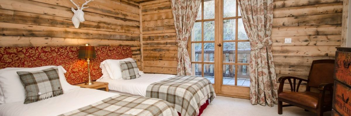 Lovely Twin or Super King Room with Balcony leading to Hot Tub