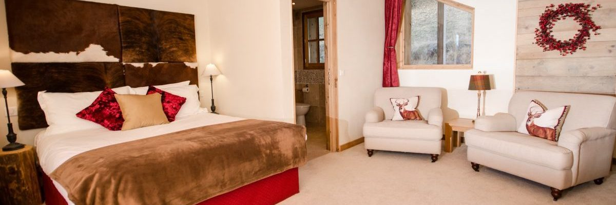The sumptuous Master Bedroom with Private Balcony and Stunning Views