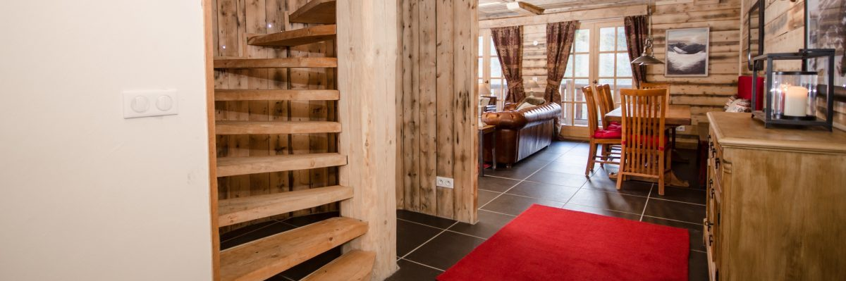 sainte foy catered chalet penthouse